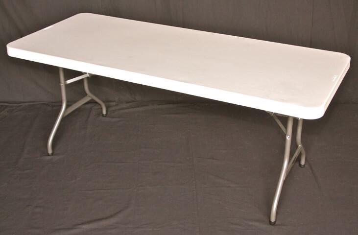 6 foot tressle table